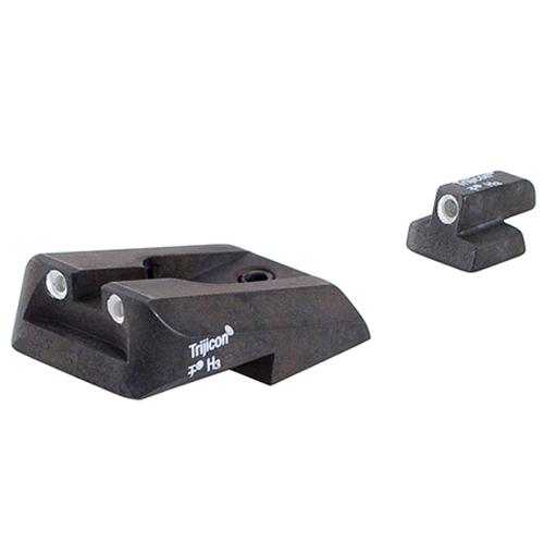 Trijicon S&W Full Size 9mm Novak Rear Set SA23 600401 by Trijicon