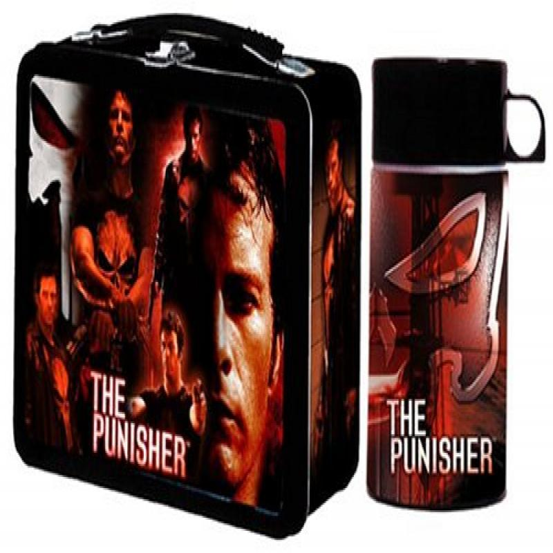 Neca Punisher Movie Lunchbox with Drink Container