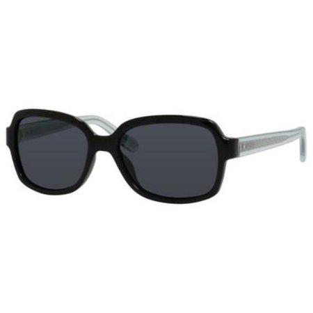 844e1e04c2 Fossil - FOSSIL Sunglasses 3027 P S DD9P Black Crystal Blue 55MM -  Walmart.com
