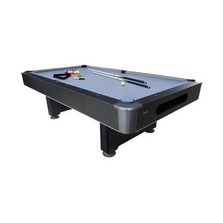 Mizerak Dakota Slatron 8' Pool Table with Ball Return System 8' Licensed Pool Table