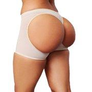 SAYFUT Womens Ultra Firm Control Shapewear Seamless Butt Lifter Boyshorts Tummy Waist Trainer Shaper Panties Plus Size S-3XL