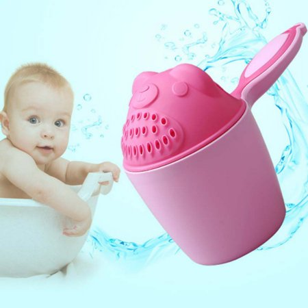 Jerusalem Wash Cup - Supersellers Baby Kids Cute Bathing Cup Shower Shampoo Cup Shower Water Spoon Bath Wash Cup