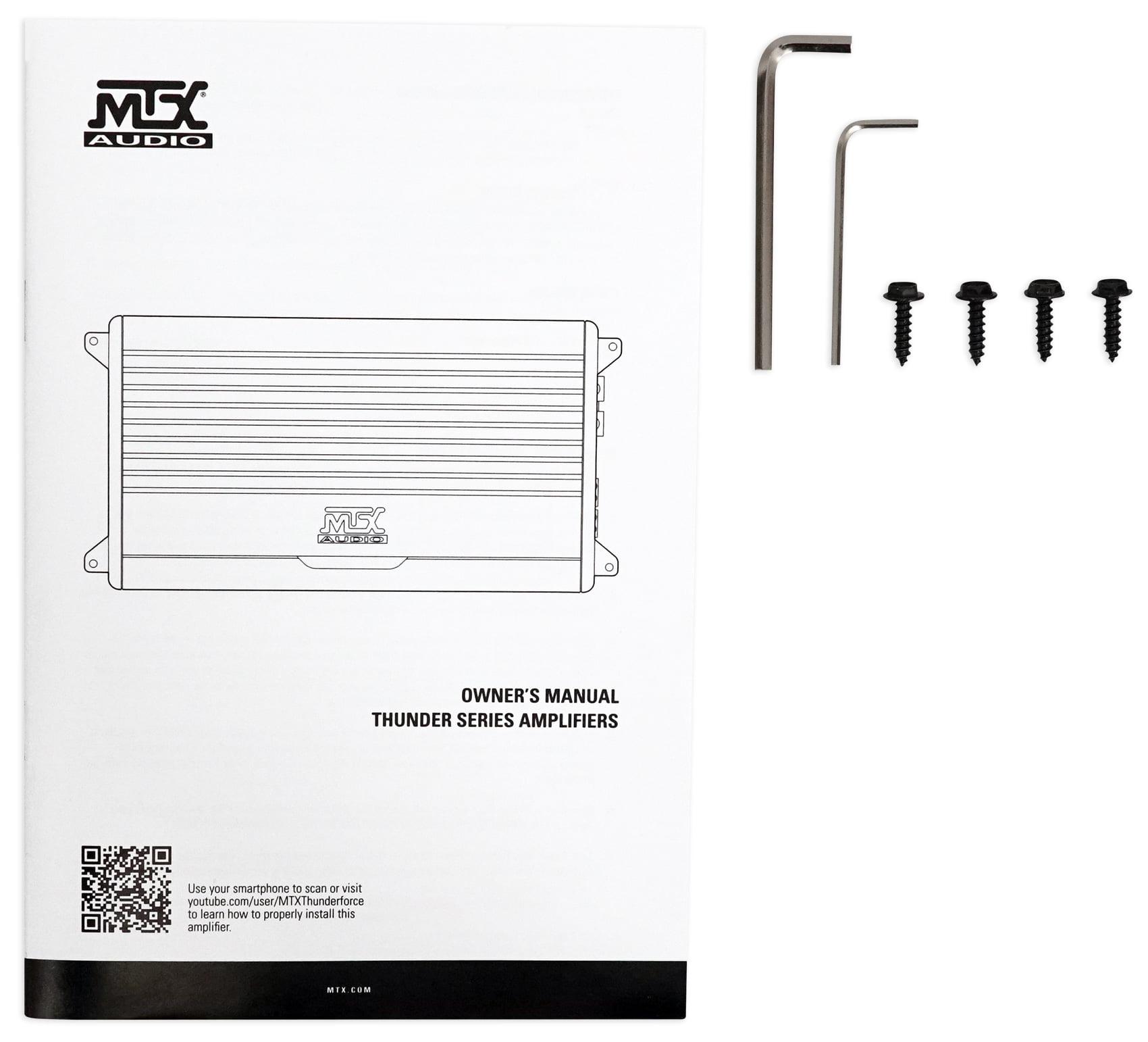 Mtx Thunder Amp Wiring Diagram - Wiring Diagrams on