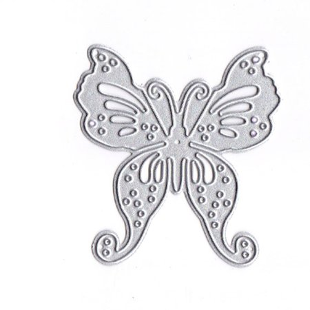 Butterfly Shape Cutting Dies Carbon Steel Embossing Stencil Metal Mould DIY Scrapbook Photo Album - Molded Carbon