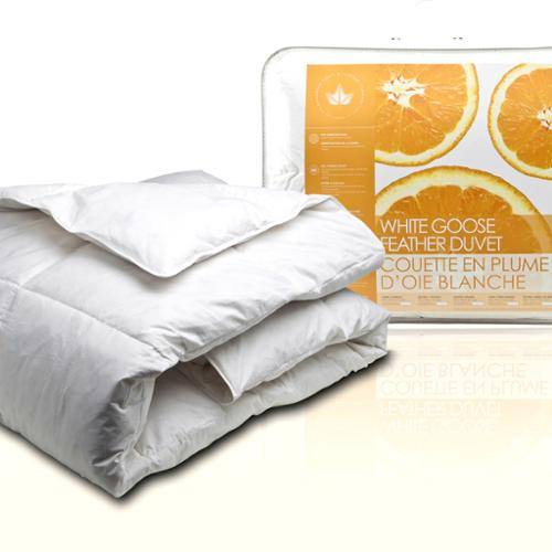 Canadian Down & Feather Company  White Goose Feather Comforter