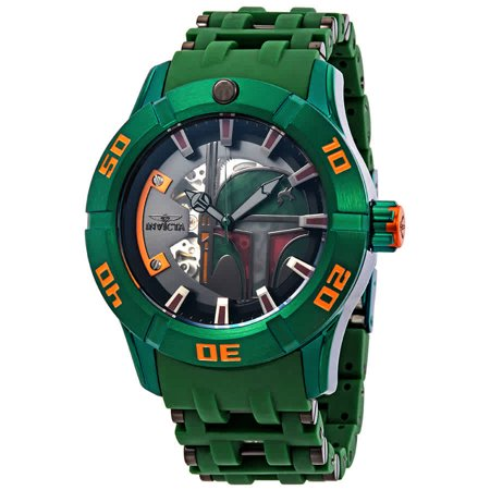 Invicta Automatic Watches - Invicta Star Wars Automatic Green Dial Men's Watch 26545