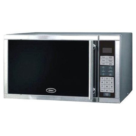 Oster Am780ss 0.7 Cu.ft. 700w Digital Microwave Oven, Stainless Steel