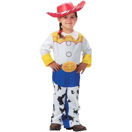 Morris Costume Girls Long Sleeve Toy Story Jessie Quality Costume 3T-4T, Style DG5480M - Girls Jessie Costume