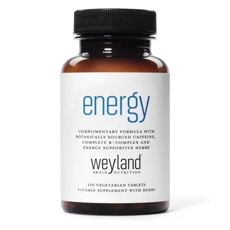 Weyland: Energy - Complimentary Formula w/ Botanically Sourced Caffeine, Complete B-Complex and Energy Supportive Herbs 1