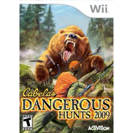 Cabelas Dangerous Hunts 2009 - Nintendo Wii (Refurbished) Pre-owned video game in very good condition.  Comes with case with original artwork and game disc.  Case may have some wear as it is a used item.  Game disc may have been refurbished.  Game has been tested to ensure it works.