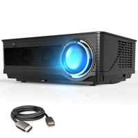 """VIVIMAGE Cinemoon C580 Projector 1080P Supported, High Brightness Video Projector with 200"""" Projection Size Includes HDMI Cable"""
