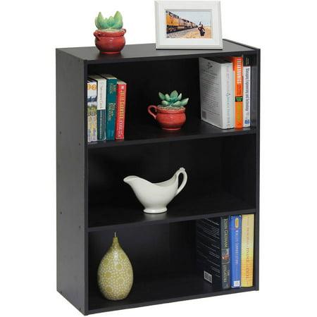 Furinno Pasir 3-Tier Open Shelf, Multiple Colors