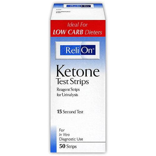 ReliOn Ketone Test Strip