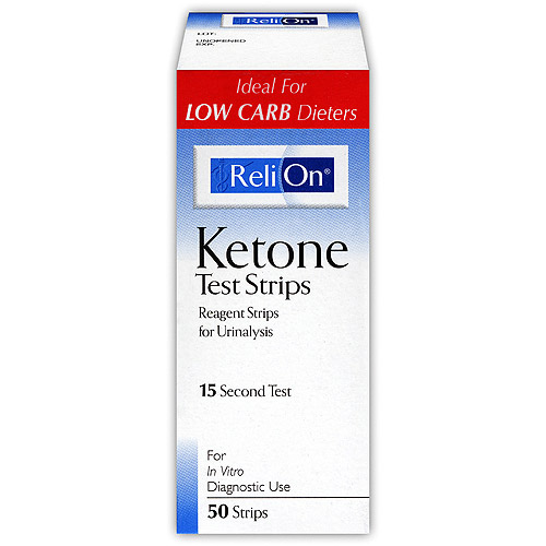 ReliOn Ketone Test Strip