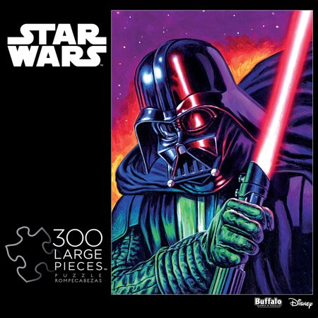 Star Wars Puzzle (Star Wars - Darth Vader - 300 Large Piece Jigsaw)