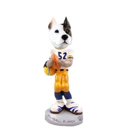 - Pit Bull Terrier Football Player Doogie Collectable Figurine