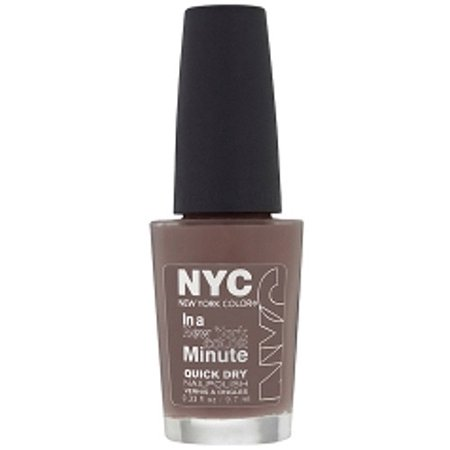 NYC New York Color In a New York Color Minute Quick Dry Nail Polish, Park Ave, 0.33 fl oz