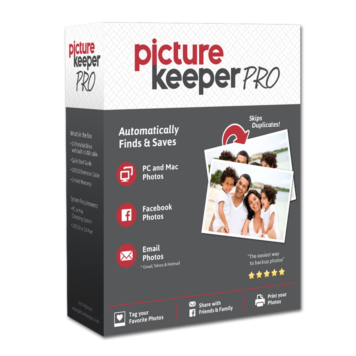 Picture Keeper Portable Flash Drive Photo Backup USB Driv...