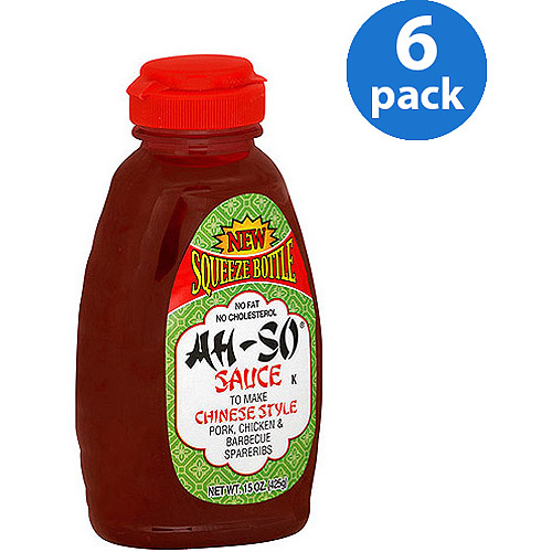 Ah-So Chinese Style Sauce, 15 oz (Pack of 6)
