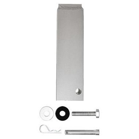 """10-3/4"""" Gooseneck ball Coupler Tube with bolts (standard with 3221) -specify steel or aluminum"""