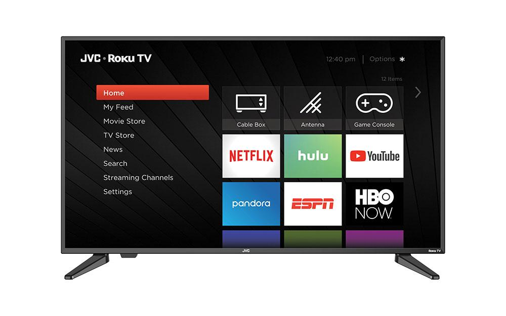 "JVC 65 ""Clase 4K UHD 2160p LED Roku Smart TV LT-65MAW595"