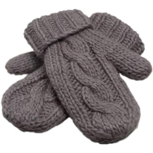 Nirvanna Designs MT41 Cable Mittens with Fleece Lining