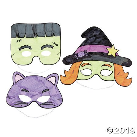 Paint Your Own Halloween Mask (Color Your Own Halloween)