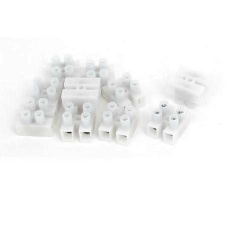 500-2P 450V H Type Bandes Borniers à vis des connecteurs de cable Fil 10pcs - image 4 de 4