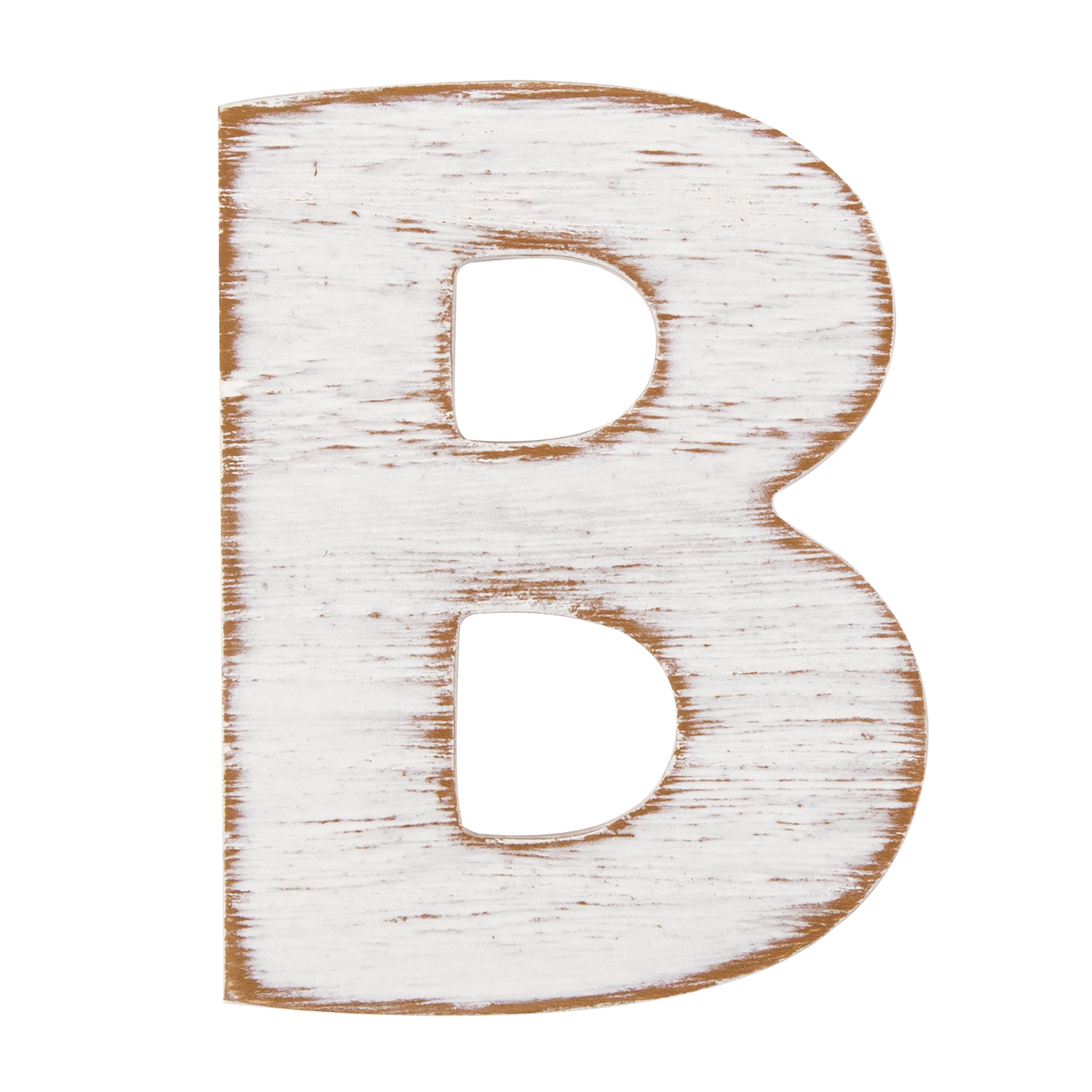 On the Surface Rustic Letter B by Horizon Group USA