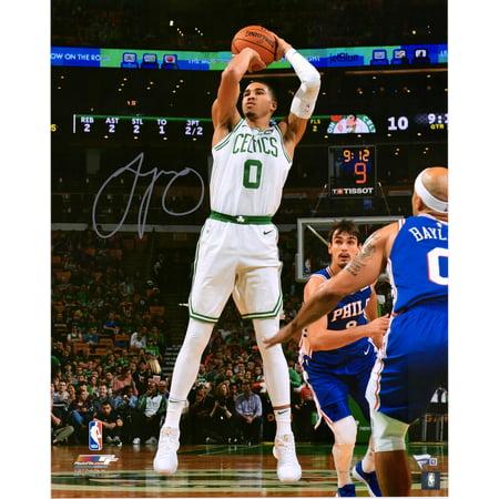 Photo Jump Shot - Jayson Tatum Boston Celtics Autographed 16