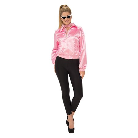 Grease Womens Pink Ladies Jacket](Pink Lady Jacket Grease)