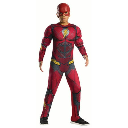 Rubies Justice League Flash Boys Halloween (Boys Costumes)