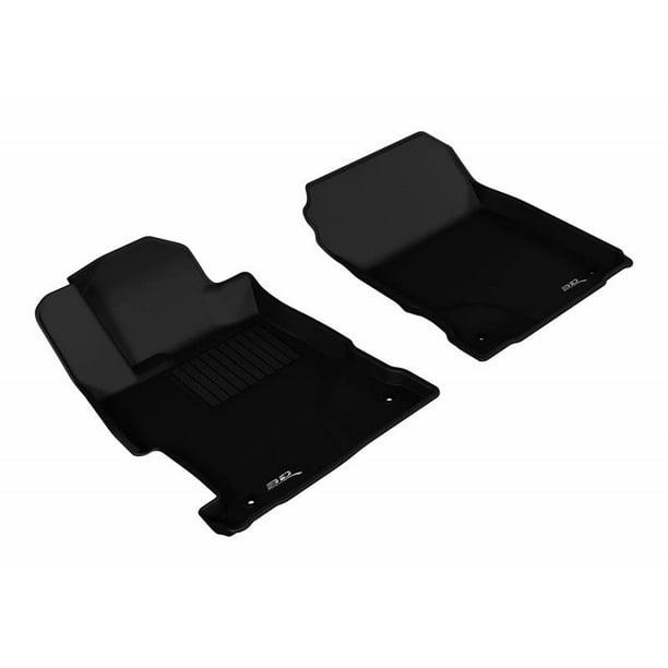 3D MAXpider 2013-2019 Acura ILX 1st Row Black Kagu Carbon