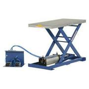 VESTIL AT-10 Pneumatic Scissor Lift Table, 200 lb. Cap