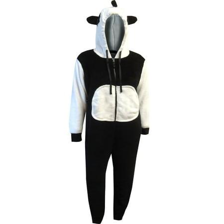 Panda Bear One Piece Plush Pajama](Panda Pajamas)
