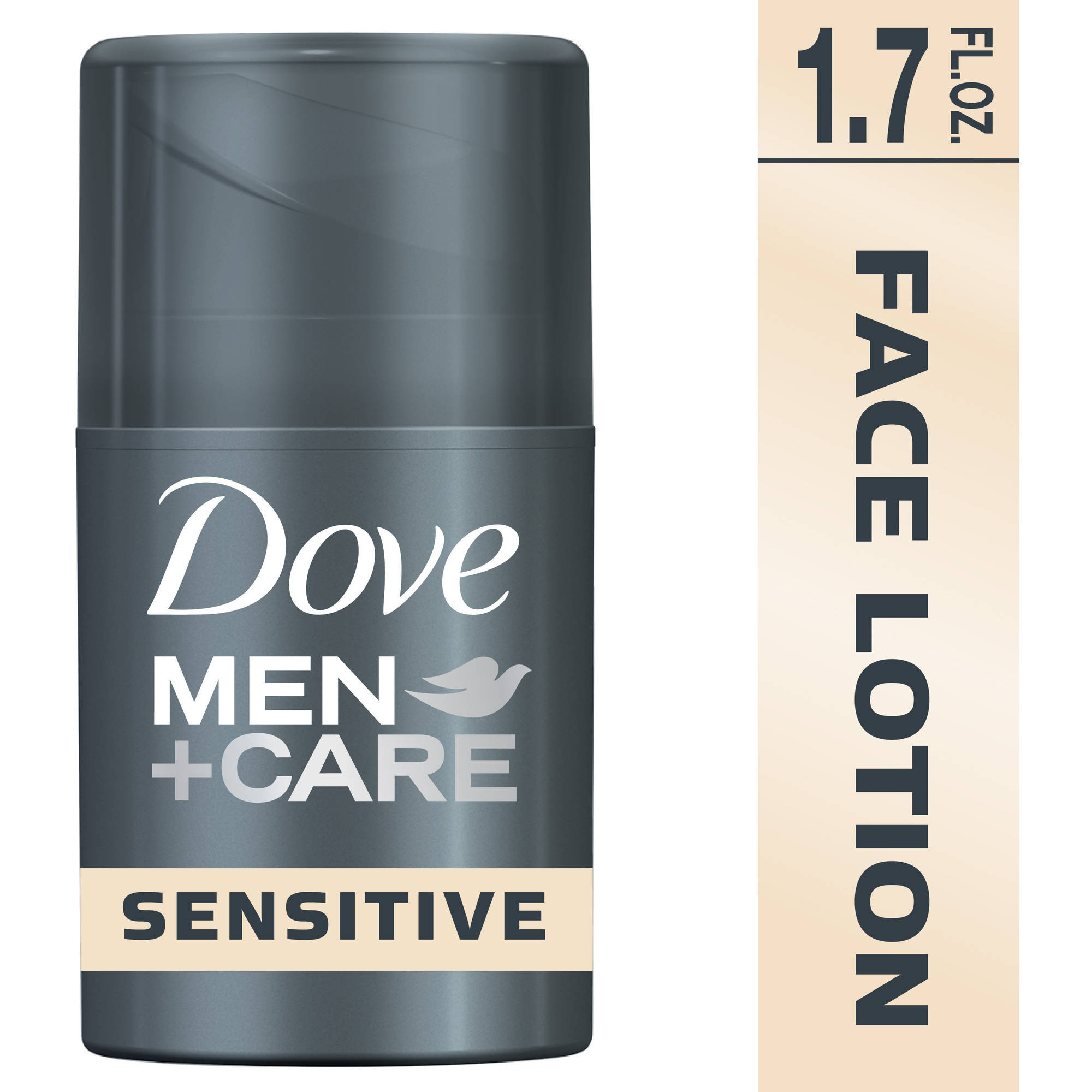 Dove Men+Care Sensitive Plus Face Lotion, 1.69 oz