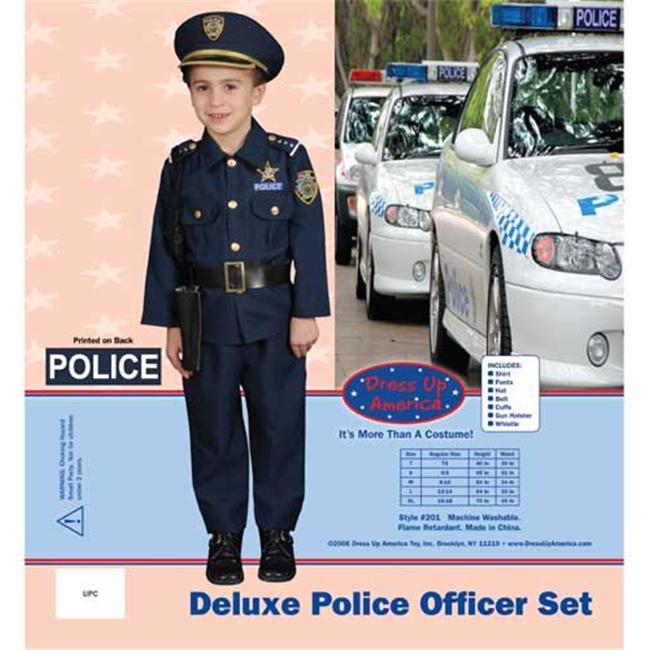 Dress Up America Award Winning Deluxe Police DressUp Costume Set Medium  8 10 201  ...