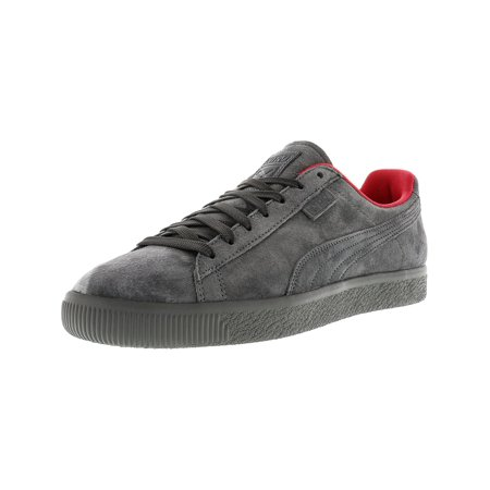 7ff78e89454 Puma Men s X Staple Clyde High Rise   Glacier Gray Ankle-High Suede Fashion  Sneaker - 13M