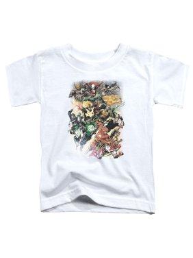 Jla - Brightest Day #0 - Toddler Short Sleeve Shirt - 3T