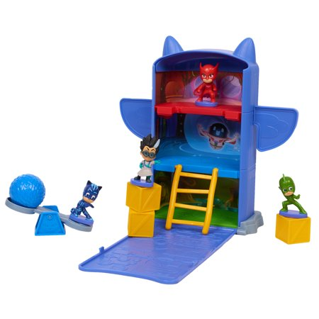 PJ Masks Fold N Go Headquarters - Headquarters 3 Piece Set