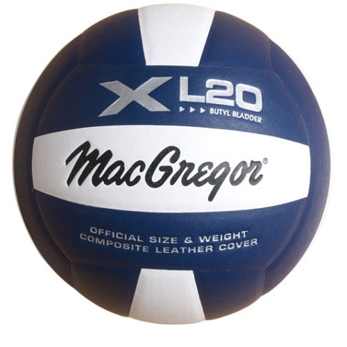 MacGregor Composite Volleyball, Colored - XL 20