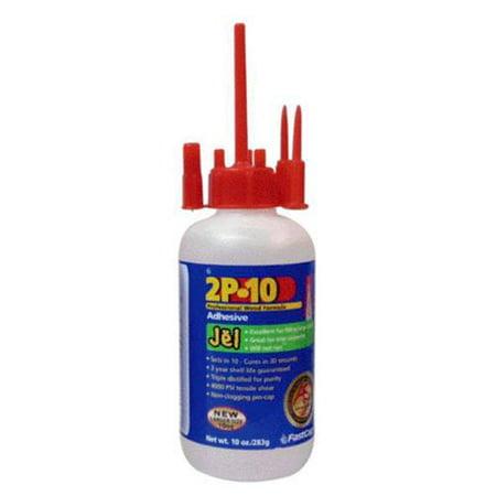 Fastcap 2P-10 JEL 2OZ Instant Two Part Bonding Adhesive Refill 2.25 Oz