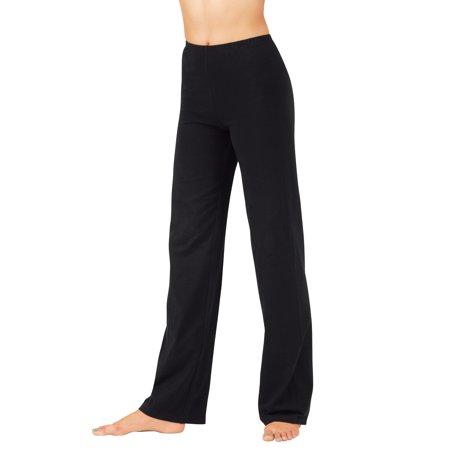 Girls Cotton Boot Cut Pants