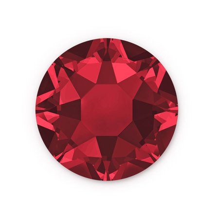 Swarovski Xilion Rose Hot Fix Crystals 2038 4mm Siam (Package of 10)
