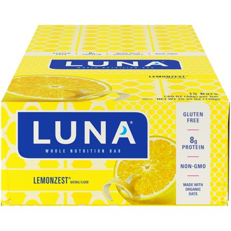 Luna® Lemonzest® Whole Nutrition Bars 15-1.69 oz. Bars