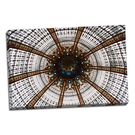 Astoria Grand 'Galeries Lafayette III' Photographic Print on Wrapped (Lafayette Wrap)