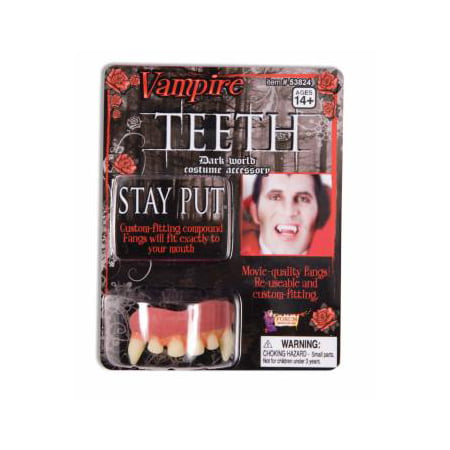 VAMPIRE TEETH NEW DELUXE - Vampire Teeth For Sale