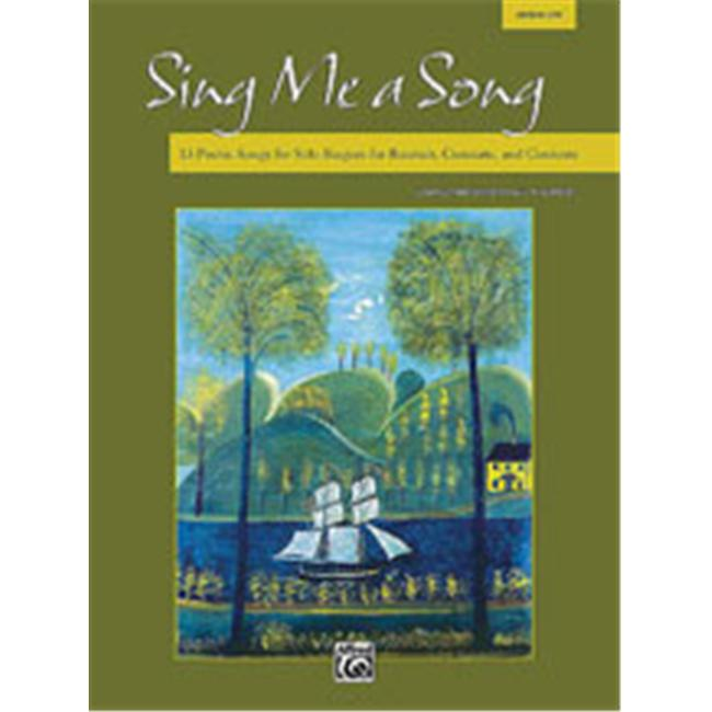 Alfred 00-28570 Sing Me a Song - Music Book