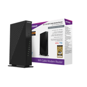 Best Modem And Router Combos - Netgear AC1750 WiFi cable modem router Review