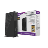 NETGEAR AC1750 (16x4) WiFi Cable Modem and Router Combo C6300, DOCSIS 3.0 | Certified for XFINITY by Comcast, Spectrum, Cox, and more (C6300-100NAS)